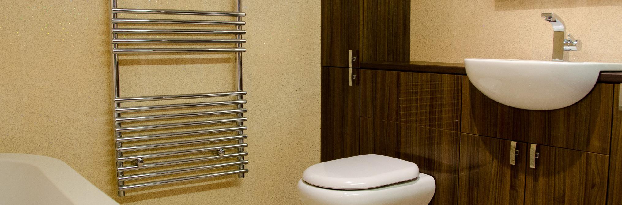 Superpaneling bathroom cladding slider